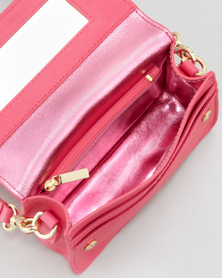 Robinson Mini Crossbody Bag, Bougainville Pink