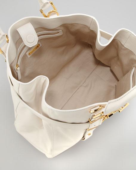 Hutton Medium Tote Bag, French Beige