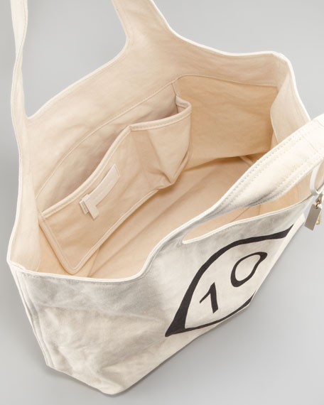 10 C Canvas Tote Bag