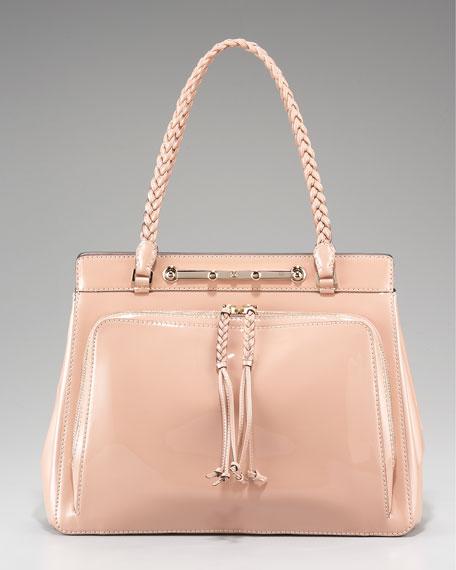 Demetra Patent-Leather Bag