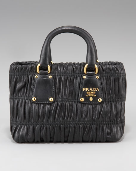 Napa Gaufre Shoulder Bag