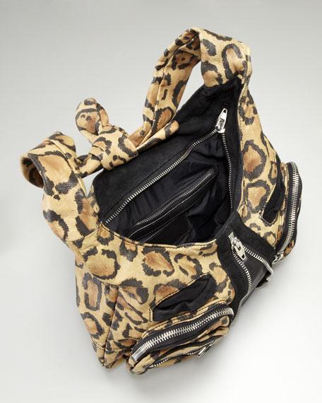 Leopard Print Hobo
