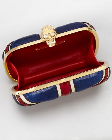 Britania Classic Box Clutch Bag