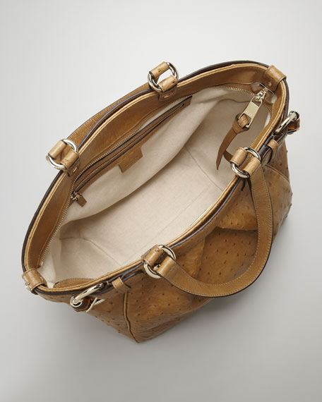 Bamboo-Buckle Medium Tote Bag