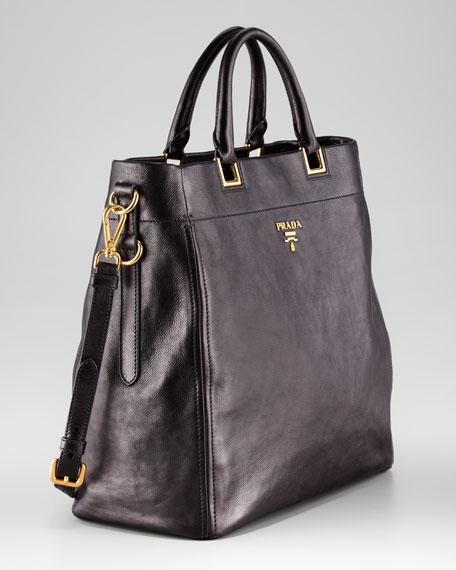 Prada Large Double-Handle Tote Bag