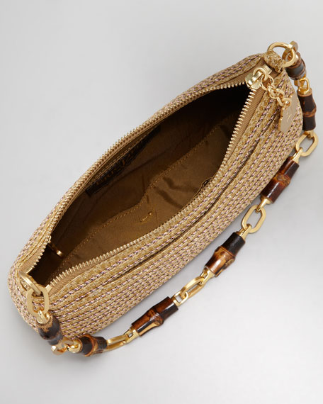 Bulu Bamboo Clutch Bag