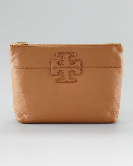 Stacked Logo Cosmetic Case