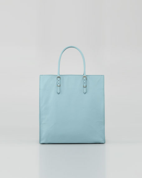 Papier A5 Leather Tote Bag