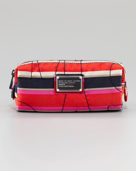 Pretty Nylon Narrow Cosmetic Case