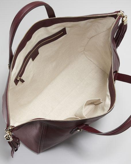 Soho Large Tote Bag, Scarlato
