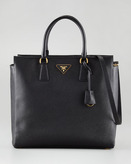 Saffiano Medium North/South Tote Bag