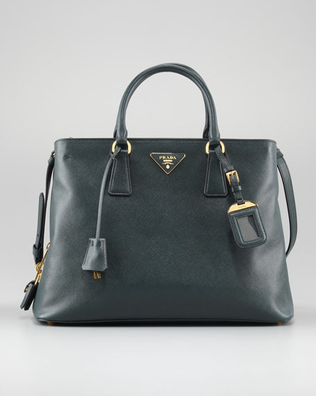 Saffiano Compartmentalized Tote Bag