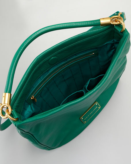 Too Hot To Handle Hobo Bag, Parrot Green