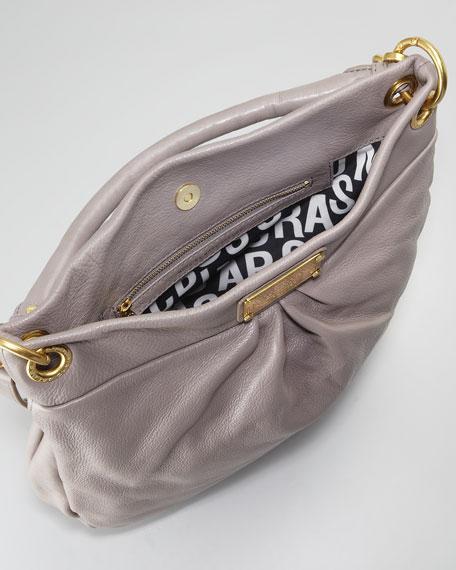 Classic Q Hillier Hobo Bag, Mink
