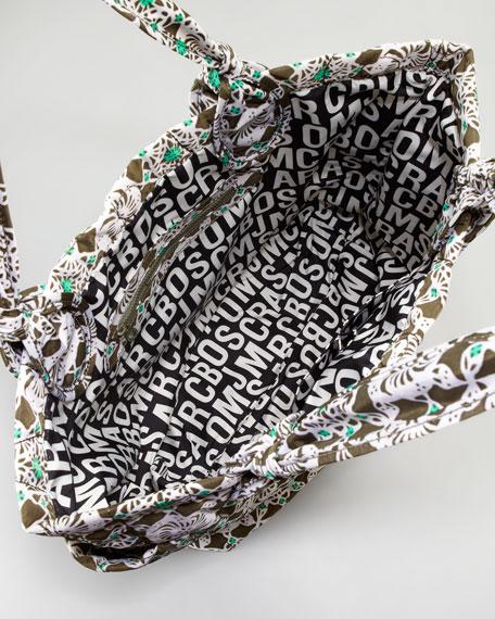 Pretty Tate Batik Nylon Tote Bag