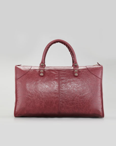 Giant 12 Rose Golden Work Bag, Gris Tarmac/Cassis Bordeaux