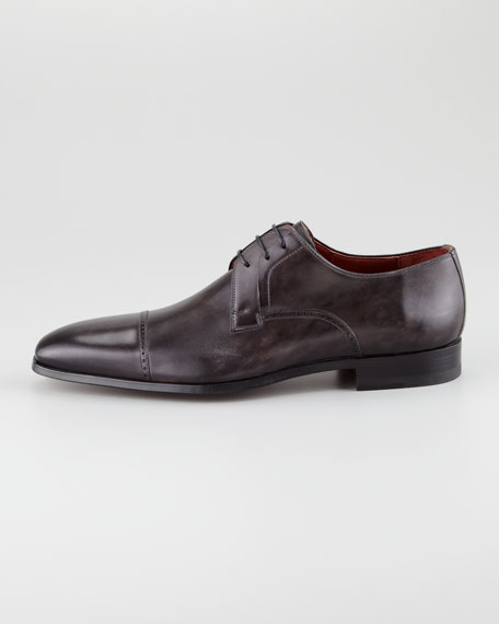 Punch-Trim Cap-Toe Shoe