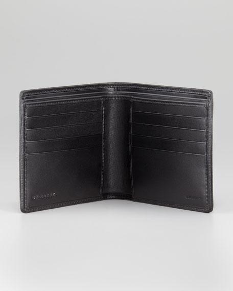Calfskin Bifold Wallet, Black