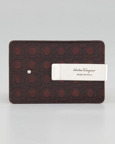 Gamma Card Case, Brown
