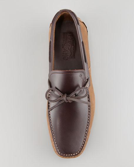 Mango Boat Shoe, Light Brown