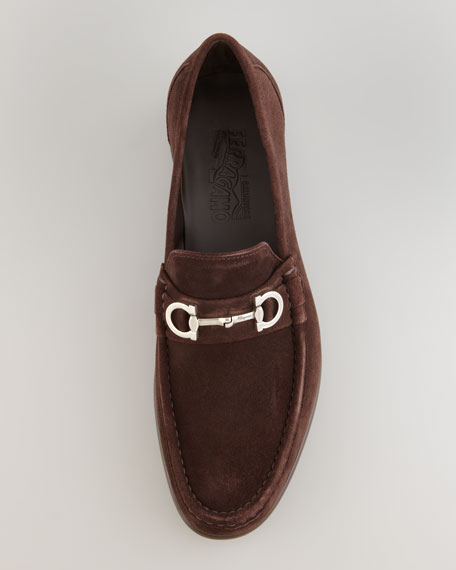 Giostra Suede Loafer, Brown