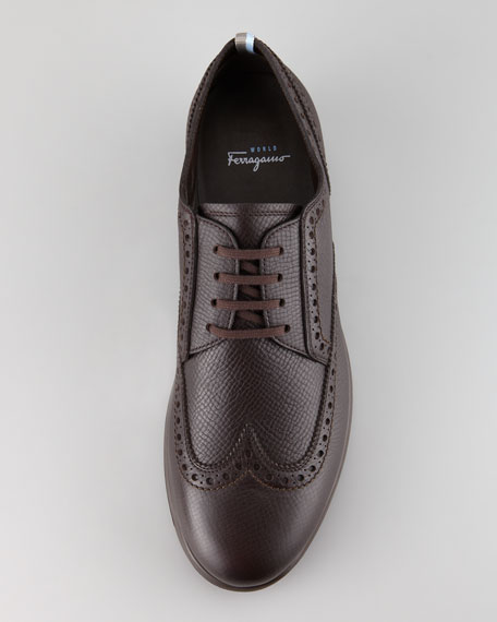 Rover Wing-Tip Lace-Up
