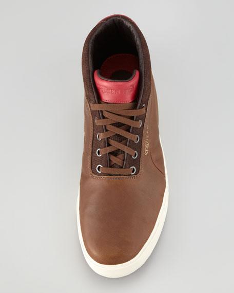 Alexander McQueen PUMA Deck High-Top Sneaker