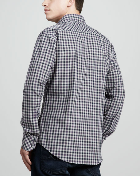 Bennett Plaid Sport Shirt