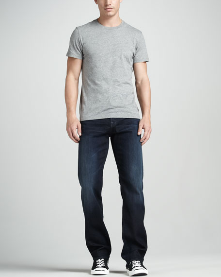Austyn Relaxed Bodega Bay Squiggle-Pocket Jeans