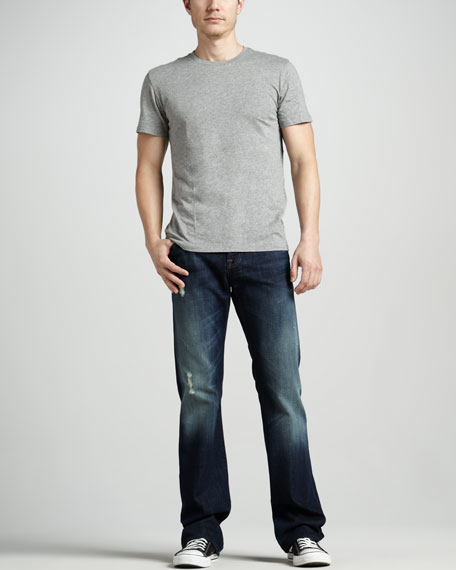 Brett Modern Boot-Cut Ashby Ave. Squiggle Jeans