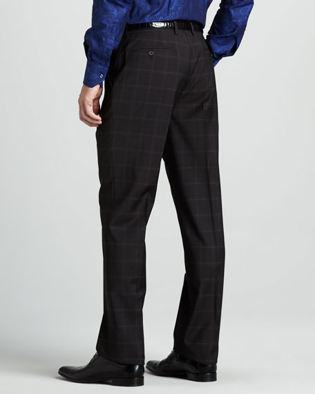Slim Check Pants