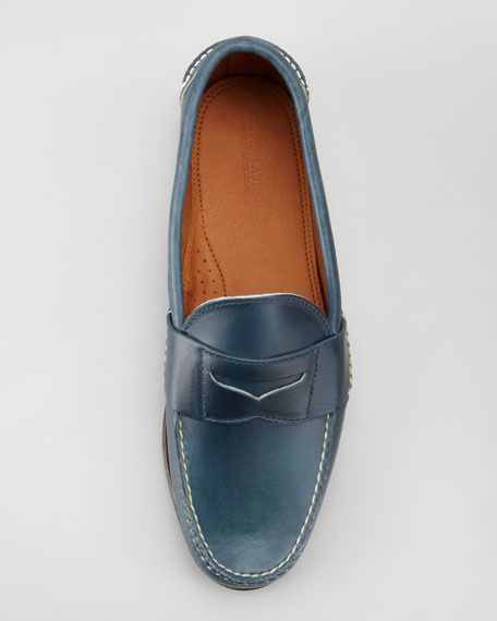 Eltham Penny Loafer, Navy