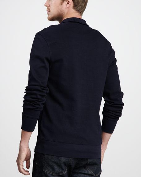 Half-Zip Cotton Sweater