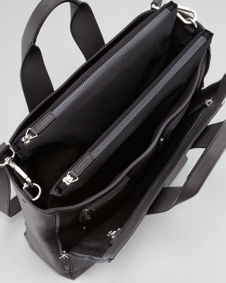 Pop Runway Tote Bag, Gunmetal