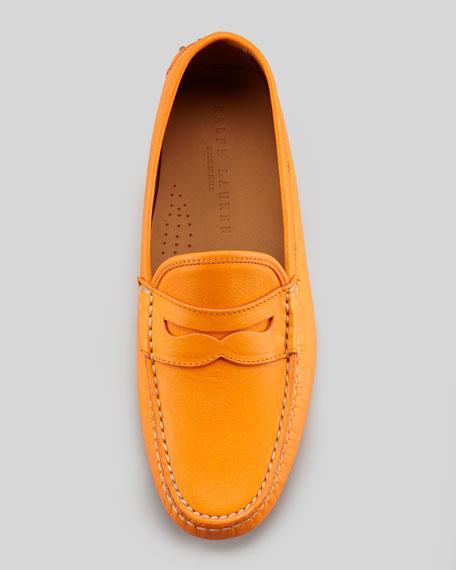 Vachetta Penny Loafer, Orange