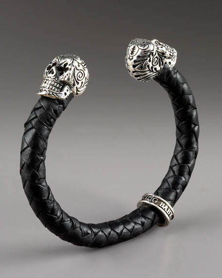 Day of the Dead Skull Cuff