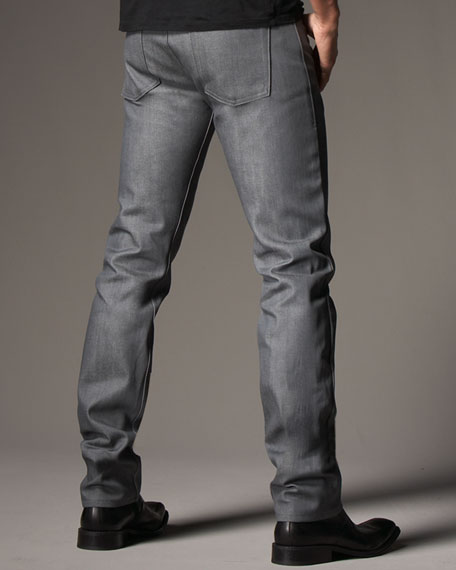 WeirdGuy Gray Selvage Jeans