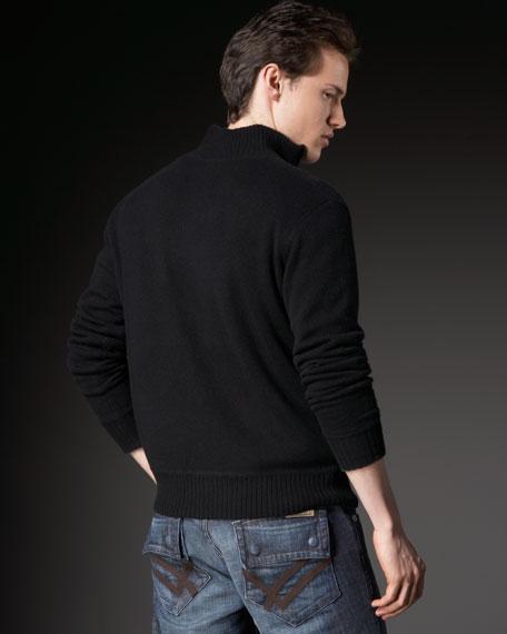 Reversible Cashmere Cardigan