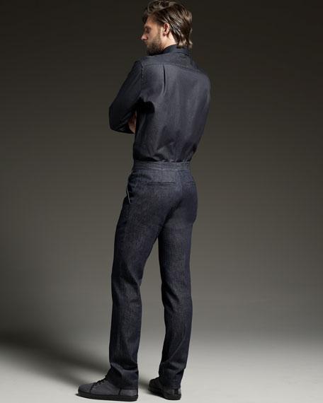 Flat-Front Pants