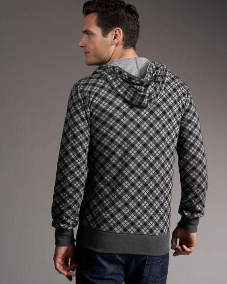 Zip Hooded Track Jacket