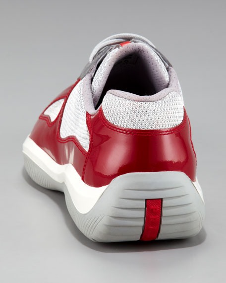 Patent-Leather Sneaker
