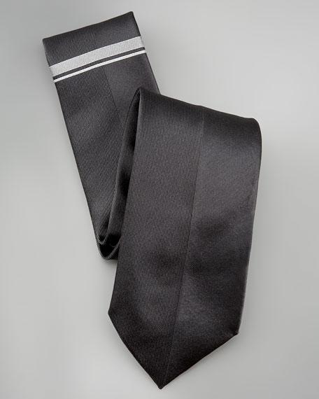 Ribbed Silk Tie