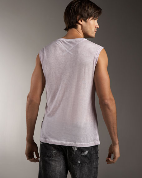V-Neck Muscle Tee