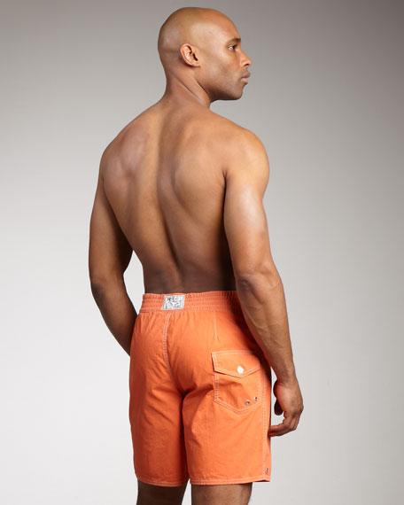 Sanibel Swim Trunks, Orange