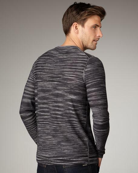 Shawn Space-Dye Striped Sweater