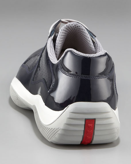Perforated Patent Sneaker