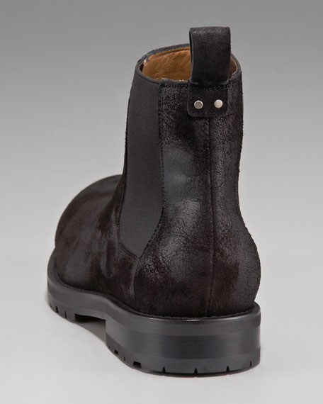 Sueded Boot