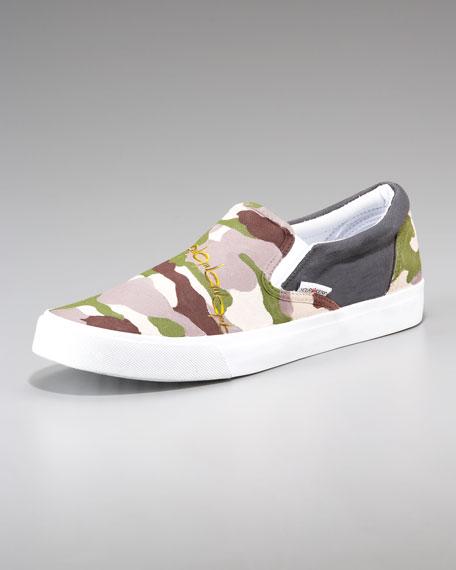Camouflage Slip-on Sneaker