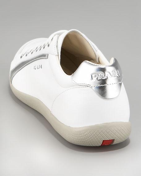 Low-Top Sneaker, White