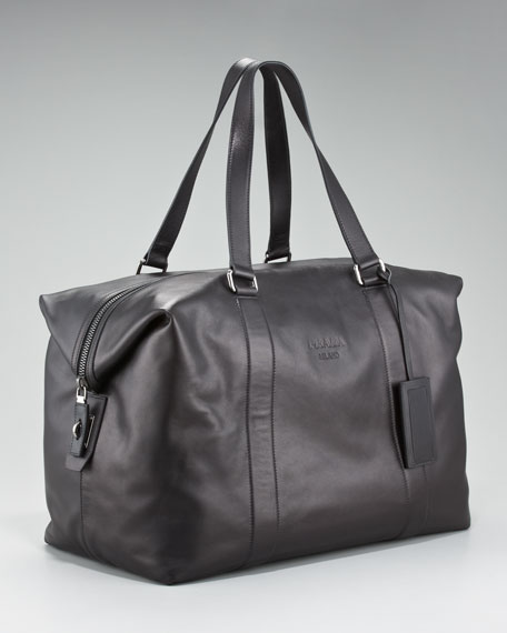 Soft Leather Duffel Bag